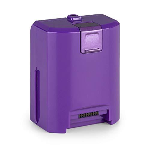 OneConcept cleanFree Akkustaubsauger Lithium-Ionen-Batterie - aufladbar, 22,2 V / 2.200 mA/h, violett
