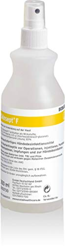 Skinsept F Hautantiseptikum und Händedesinfektion 350 ml in praktische Sprühflasche - begrenzt viruzid, bakterizid, levurozid und Wirksam gegen Rotaviren