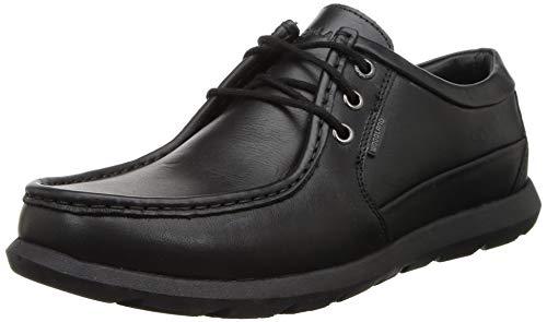 Woodland Men's Leather Sneaker-8 UK (42 EU) (9 US) (GC 2917118WS_Black)