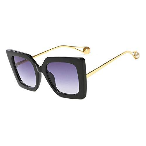 Gafas De Sol Fashion Unisex Hombres Gafas De Sol Macho Gafas De Ojos Señoras Gafas Femeninas Adecuadas para Las Compras De Viajes Al Aire Libre Y Tomar El Sol Etc-3-Qj1916-C1