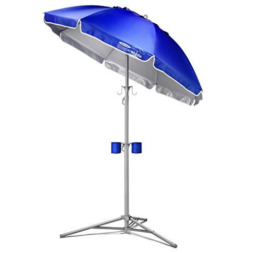 Wondershade Ultimate Portable Sun Shade Umbrella, Lightweight Adjustable Instant Sun Protection - Blue