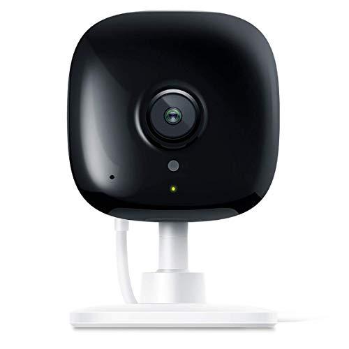 TP-LINK Smart-Spot-Indoor-Überwachungskamera, kein Hub Required, Arbeitet mit Alexa (Echo Punkt / Show and Fire TV), Google Home / Chrome und IFTTT, 1080p, 2-Wege Audio mit Nachtsicht für Baby / Eld