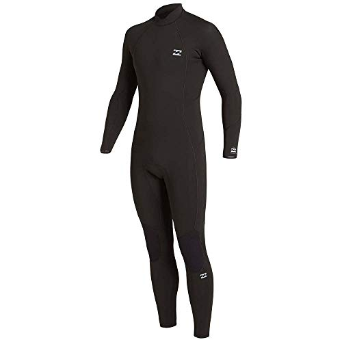 NA PALI SAS, Hossegor - BILLABONG Herren Absolute 4/3mm GBS-Back-Zip-Neoprenanzug für Männer, Black, L