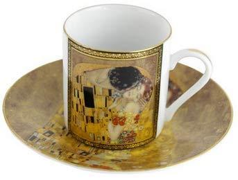 Smile GmbH Espressotasse mit Goldrand Der Kuss