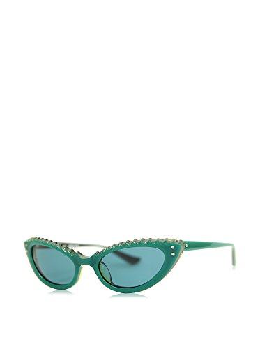 Moschino MO-69503 Gafas de sol, Green, 51 para Mujer