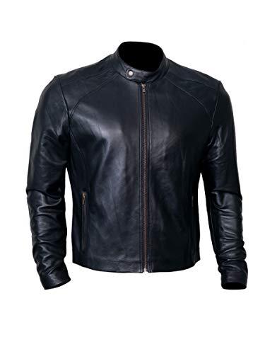 Black Leather Jacket Men for Bikers | Genuine Lambskin Motorcycle Jackets