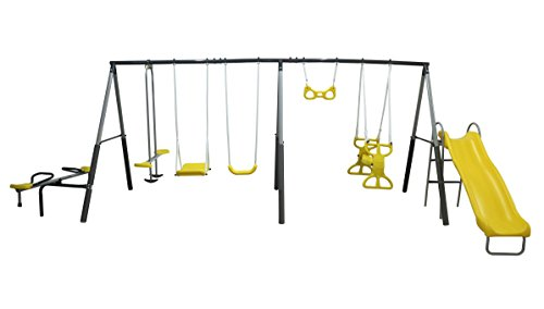 "XDP Recreation ""Rising Sun Playground Swing Set"