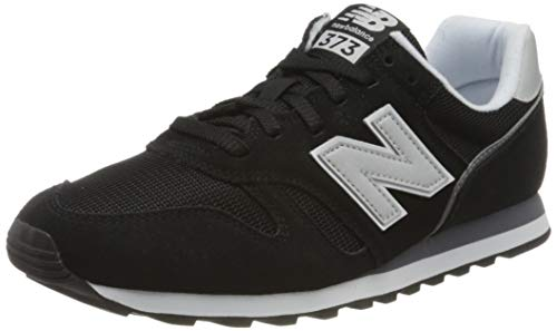 New Balance Herren ML373 Sneaker, Schwarz (Black/White Ca2), 39.5 EU