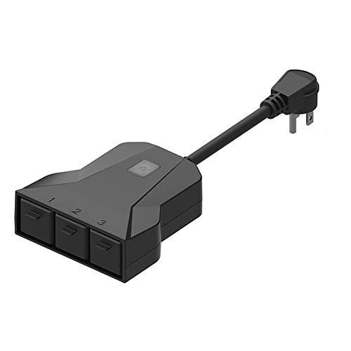 Equipo Toma de Corriente Exterior Inteligente WiFi teléfono móvil Temporizador Interruptor Control Remoto hogar Inteligente regulaciones de EE. UU.