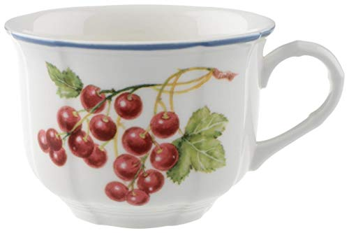 Tasse pour le petit-déjeuner Cottage Villeroy & Boch 0,35 l (10-1115-1240), Porcelaine Premium, Convient pour 1 Personne, 1 Tasse