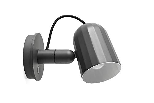 Noc Wall Button wandlamp Hay donkergrijs