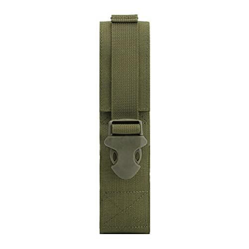 ABOOFAN Bolsa de Linterna Multifuncional de 1 Pieza, Kit Militar, Funda de Linterna, Bolsa de Deportes al Aire Libre, Bolsa táctica (Verde)