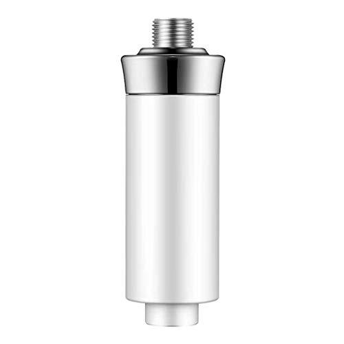 Filtre à Eau du Robinet Installation Facile Robinets filtrants Purificateur d'eau de Bain purificateur de Douche Accessoire de Salle de Bain Cuisine (Blanc)