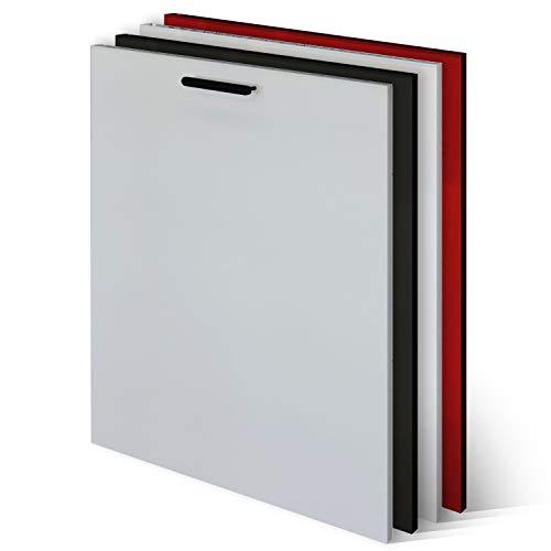 KLEMP Frontblende Geschirrspüler - Geschirrspülerfront 594x565mm - White Mat - Geschirrspülerblende Vollintegriert