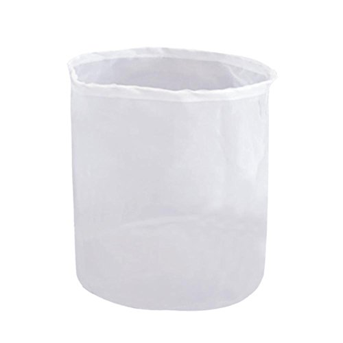"CONIE 75 Micron Nylon Straining Brew Bag for Beer Wine Making Food Grade Filter Bag Nut Milk Bag 18""x24"""