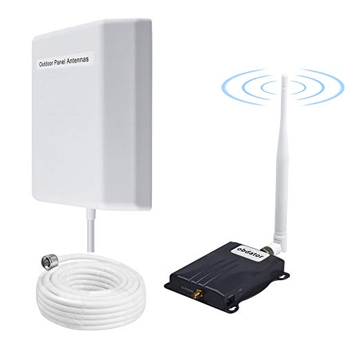 AT&T T-Mobile Cell Phone Signal Booster 4G LTE 700Mhz Cell Phone Booster Band 12/17 Cell Phone Signal Amplifier for Home and Office | Improve Voice & Data Speed | 2000sq ft Coverage | FCC Approved