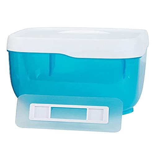 Soporte De Papel HigiéNico Tableta de papel del teléfono de la caja del papel del baño de 2 en 1 de baño 2-en-1 Autoadhesivo (Color : Blue L)