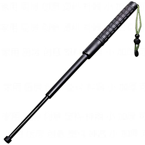 Telescopic Stick, Self Defense Telescopic Stick, Multifunctional Collapsibl Telescopic Stick with Lanyard for Girl Woman Adult
