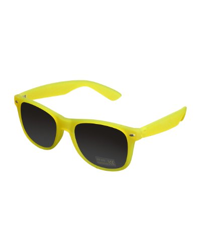 MasterDis Herren Sonnenbrille Likoma Glowing in The Dark Neon Yellow
