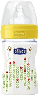 Chicco CH20611-30 Well Being Regular Flow 150 ml Fedding Bottle for Unisex