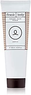 Frank Body Original Face Scrub, 4.2oz | Creamy Face Scrub & Exfoliator To Promote Healthy Skin | Natural & Nourishing Skin...