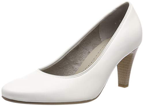 Jenny Damen Marseille 2256017 Pumps, Weiss 65, 38 EU