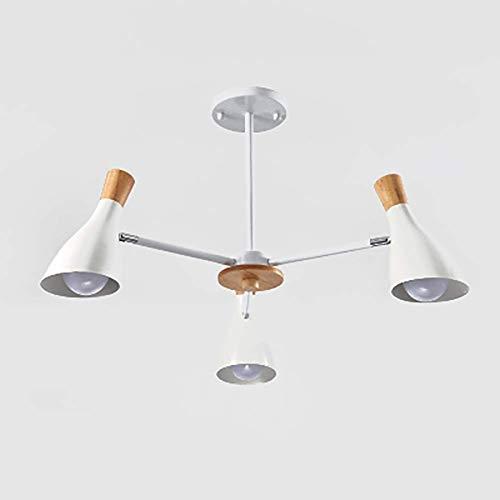 PXY Botón de Araña Colgante Luz Nordic Simple Light Light Moderno Led Led Lámpara de Araña Creativa para Restaurante Barra de Baño Lámpara de Techo Gris 3-Luz,Blanco