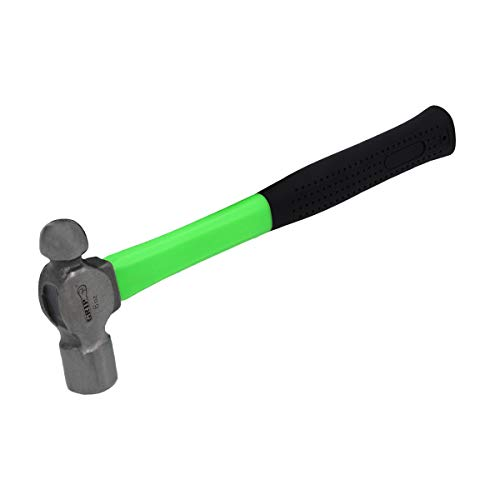GRIP 41518 Fiberglass Ball Peen Hammer, 8 oz.