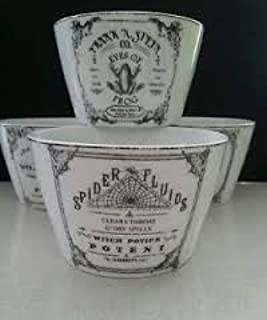 222 Fifth Halloween Apothecary Dipping Bowl Set of 4