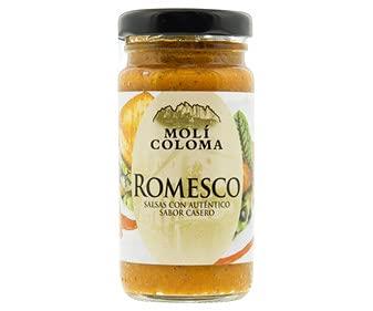 Molí Coloma - Salsa Romesco . Salsas con Autentico Sabor Casero - 185 Gramos