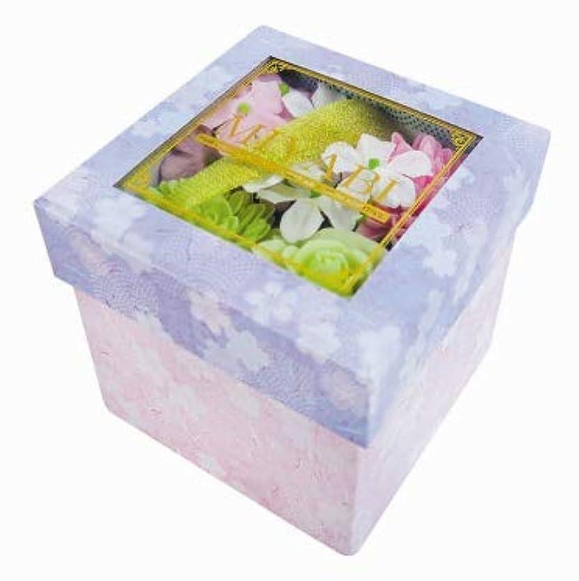 調整可能ピンポイント強います花のカタチの入浴剤 和バスフレBOX-MIYABI-M桜 775574
