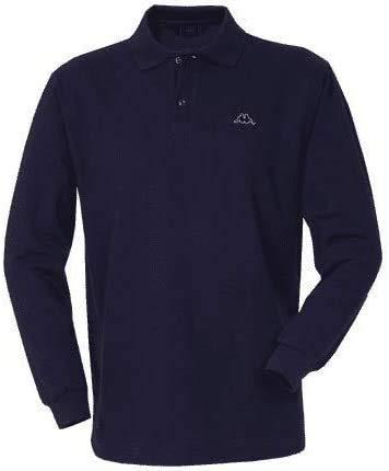 Robe di Kappa Polo Uomo Manica Lunga Cotone Colori Assortiti dalla S alla XXXL (Blu' Navy...