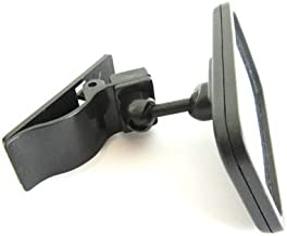 Clip-On Rear View Mirror for PC Monitors or Anywhere by Modtek