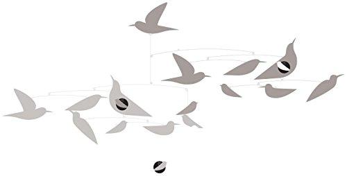 DJECO White Birds Paper Mobile Room Decoration