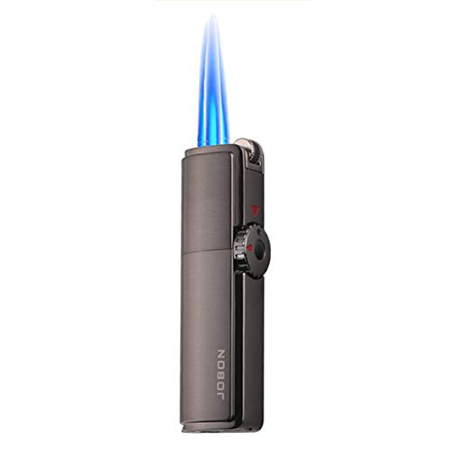 Triple Jet Torch Lighter Cigar Lighter Triple Jet Flame Refillable Butane...