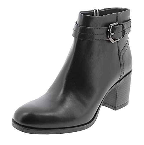 Geox Woman D NEW ASHEEL A ANKLE BOOTS BLACK_38 EU