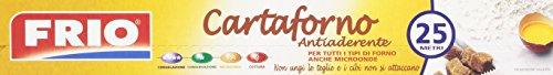 Frio - Cartaforno, Antiaderente, Per Tutti Tipi Di Forno, Anche Microonde, 25 Metri