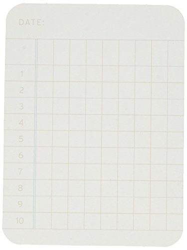 Becky Higgins 380163 Project Life Cards Accessories-3 x 4-Ledger-Double-Sided-White (100 Pieces)