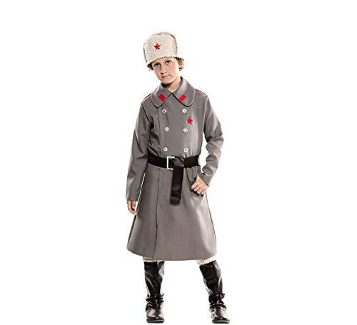 EUROCARNAVALES Disfraz de Ruso Gris para niño