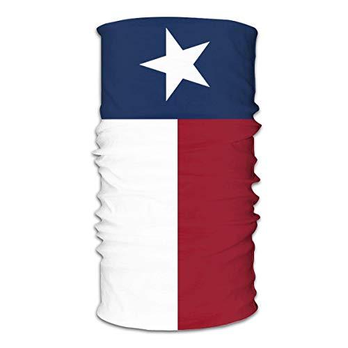 Texas State Flag Face American Mask Bandanas Neck Gaiter Headwrap Head Scarf Skiing Balaclava White