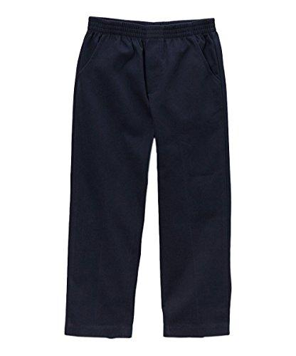 unik Boy's Uniform All Elastic Waist Pull-on Pants BU03 Navy 10