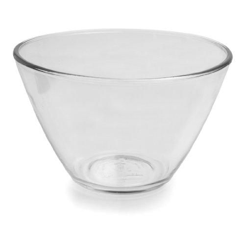Anchor Hocking Splashproof Glass Mixing Bowls, 3 Quart (Set of two)
