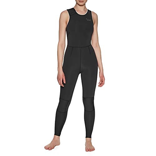 Billabong Womens Eco Sol Sistah 2mm mm Long Jane wetsuit zonder rits - Onyx - Easy Stretch - Niet-giftige lijm op waterbasis