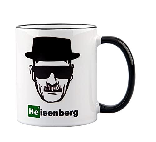 Taza Heisenberg – Walter White – Los Pollos Hermanos – Regalo – Imagen con sombrero