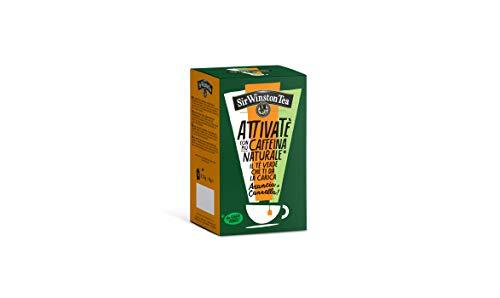 Sir Winston Tea Attivate Al Tè Verde Arancia Cannella - 135 g
