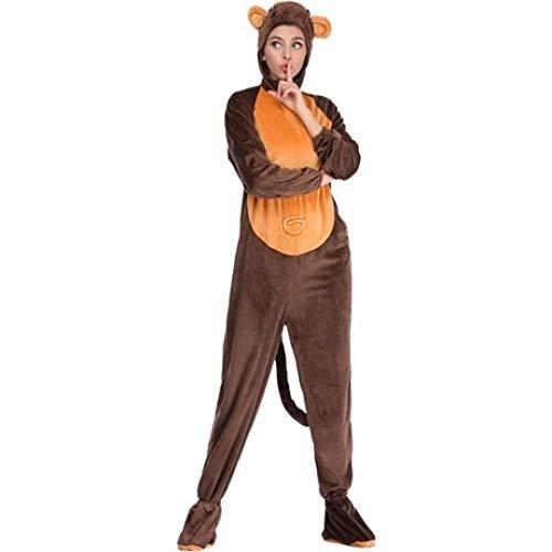 YyiHan Cosplay Disfraz, Amantes de los Animales Mono Traje de la Etapa Traje del Mono Traje de la muñeca Cosplay del Maquillaje de Halloween Traje del Funcionamiento de la Etapa Traje del Partido