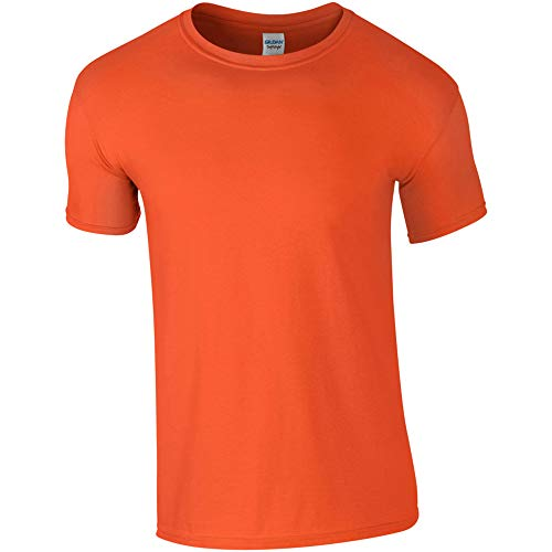 Gildan Softstyle Adult Ringspun T-Shirt Orange L