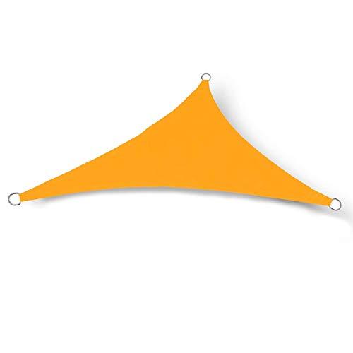 LLGHT Vela Triangular De Sombra Poliéster Impermeable Protección De Los Rayos Ultravioleta, Resistente Y Transpirable para Jardín Terraza Cámping Partido Piscina Size : 2.4x2.4x2.4m(8x8x8ft)