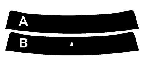 PSSC Pre Cut Sun Strip Auto Fenster FilmefürFIAT Strada 1999bis 2015