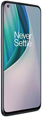 OnePlus Nord N10 5G Unlocked Smartphone Midnight Ice 90Hz Refresh Rate 6GB RAM 128GB storage product image